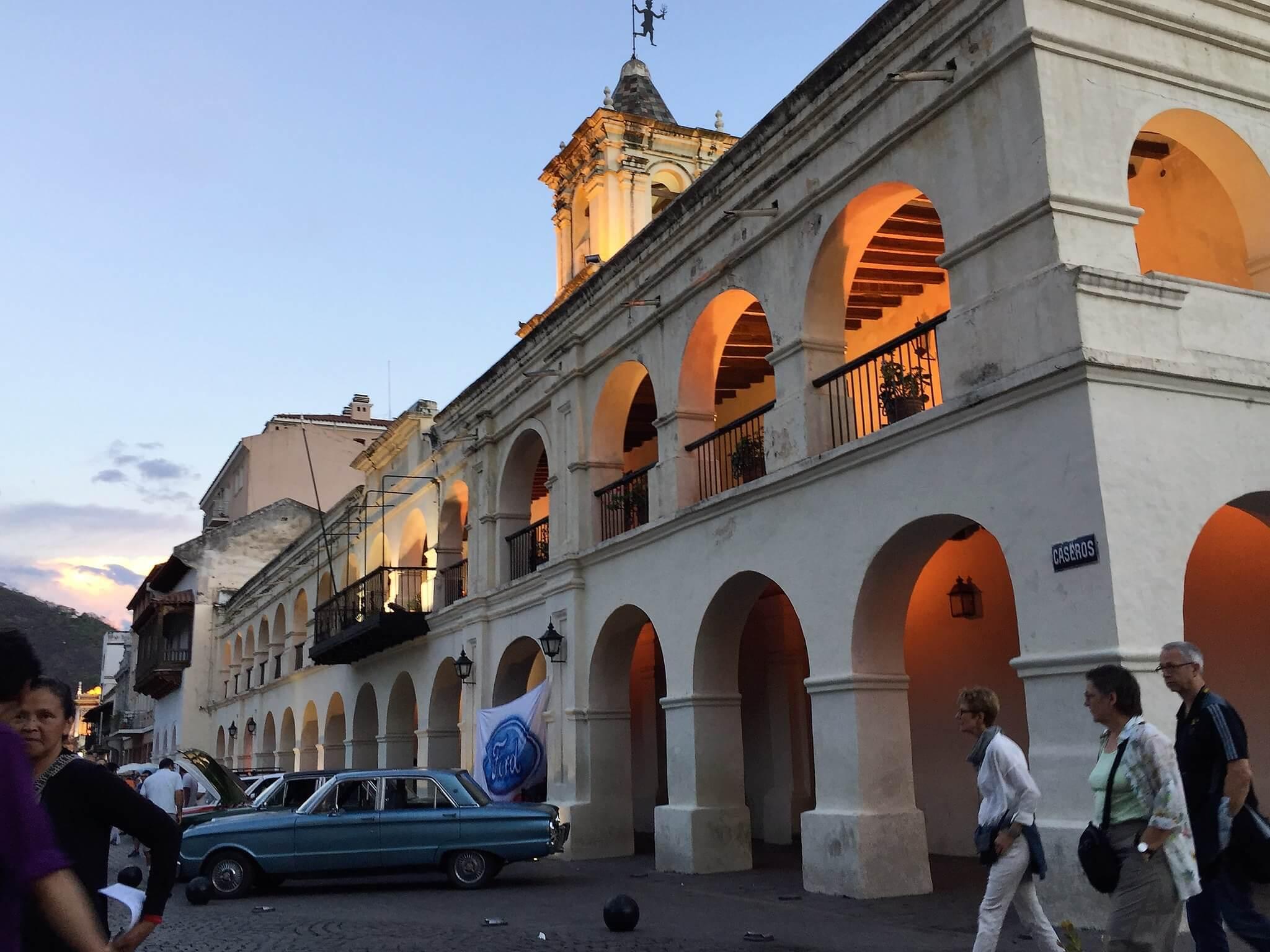 Cabildo Histórico de Salta. Fuente: Rodrigo Soldon.