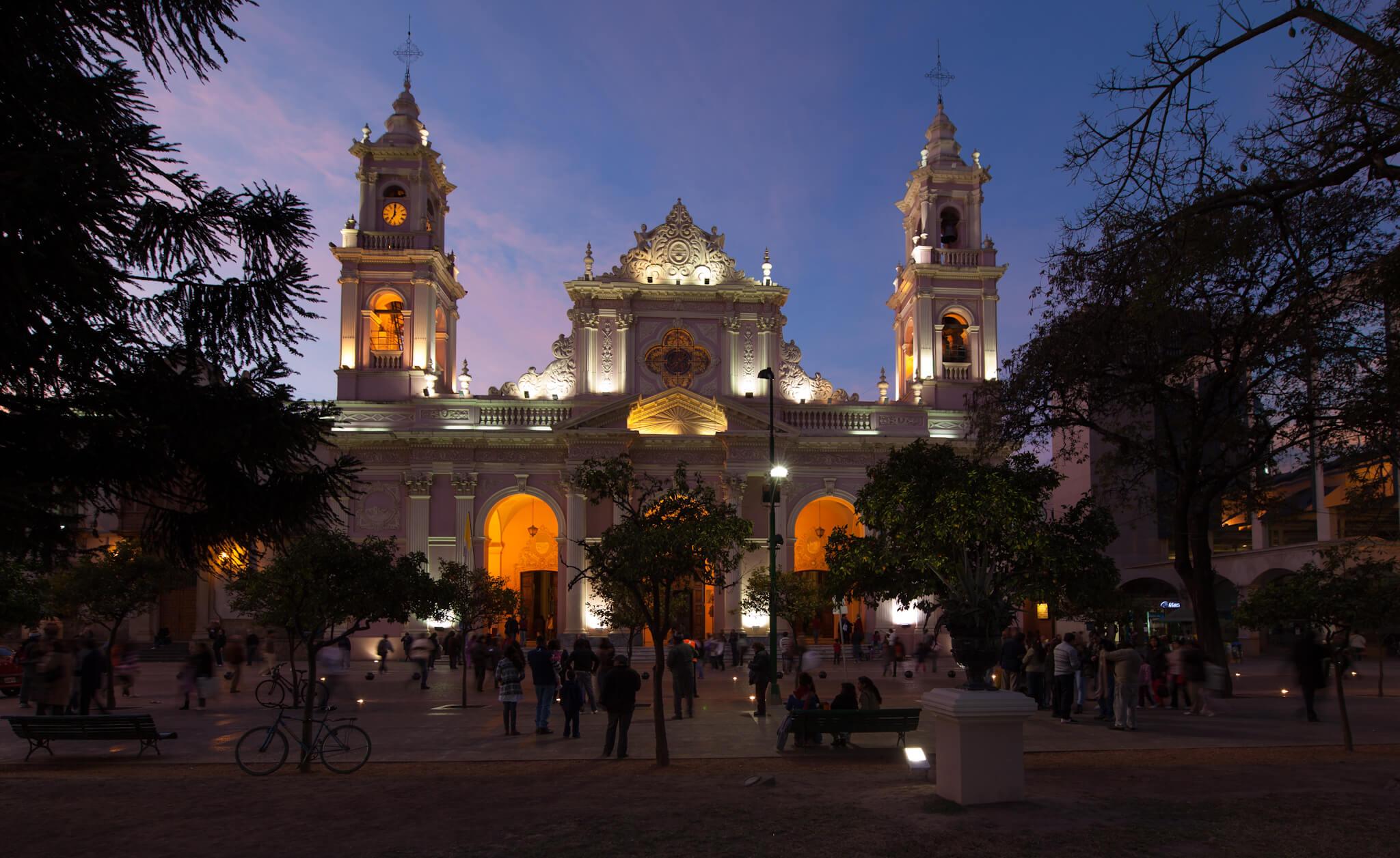 Catedral de Salta. Fuente: Catedral de Salta. Fuente: Jimmy Baikovicius.