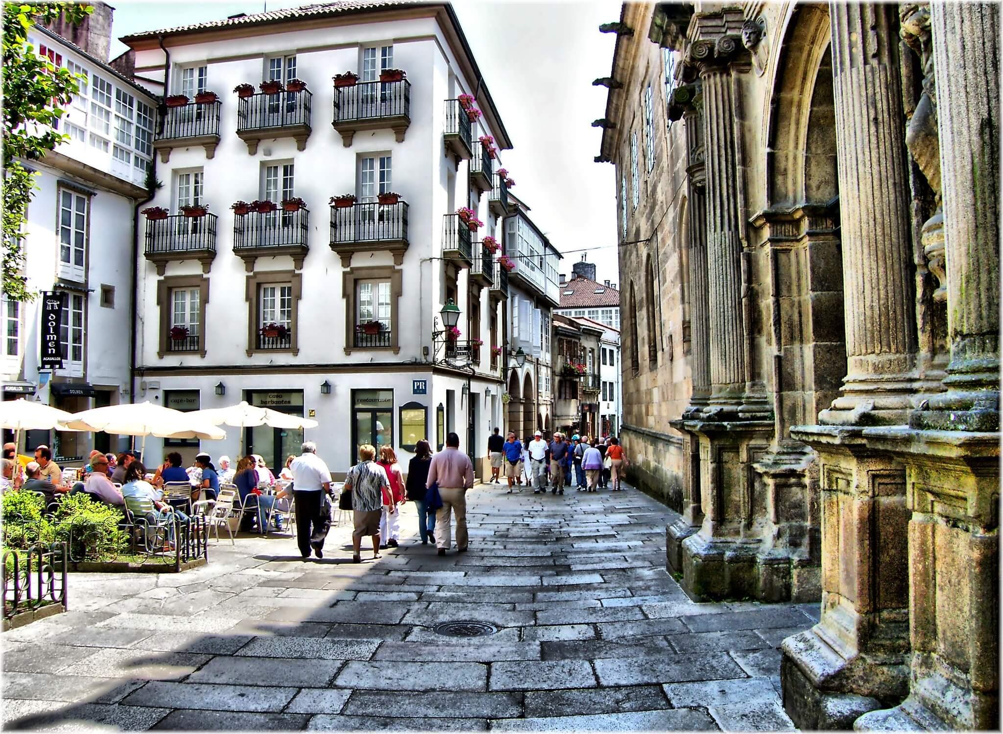 Santiago de Compostela . Fuente: Jose Luis Cernadas Iglesias