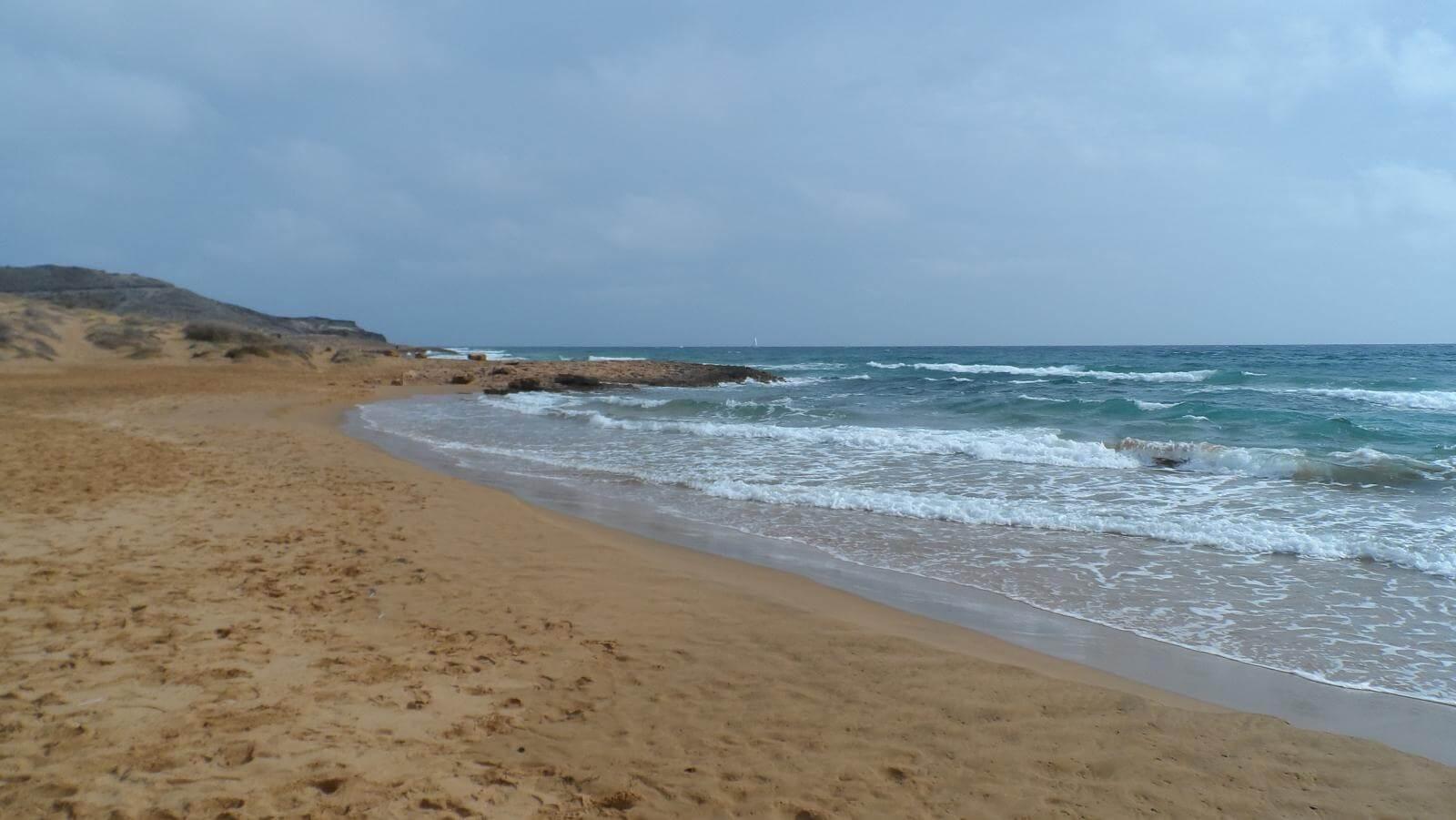 Playa de Calblanque. Fuente: Cala Reona