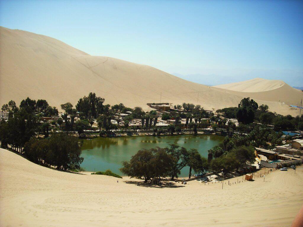 Huacachina, Perú. Fuente: Francisco Javier García Orts.
