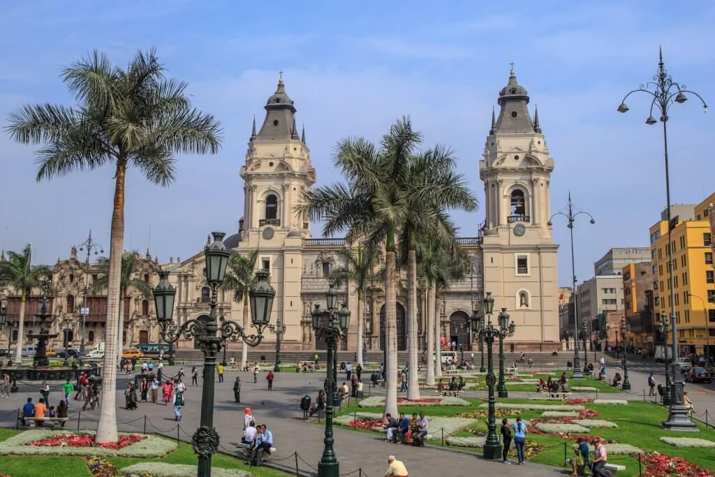 Itinerario de vacaciones en Perú, Lima, Wikimedia.